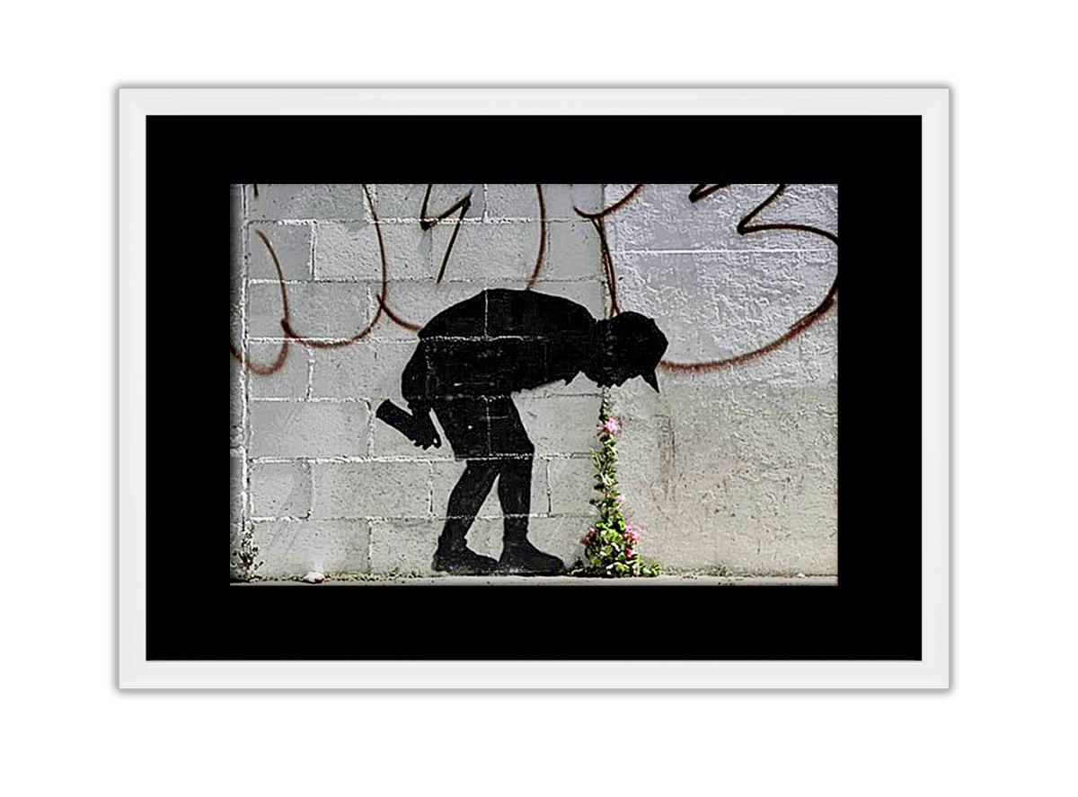 Vomit Flowers Photo Print