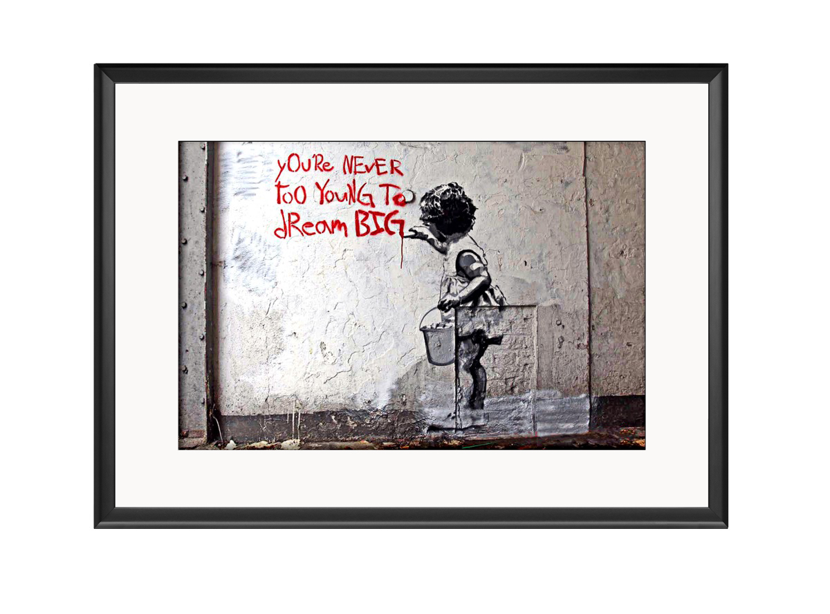You Never Too Young  Photo Print